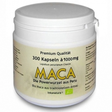 300 Stk. Maca Kapseln à 1000mg - Inkanatura