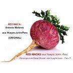 750g RED MACA Pulver- Pet Dose